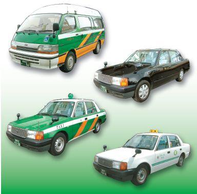 タクシー画像